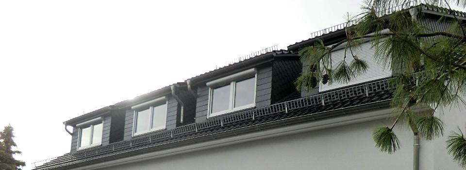 Dachgeschoß der Ferienwohnungen